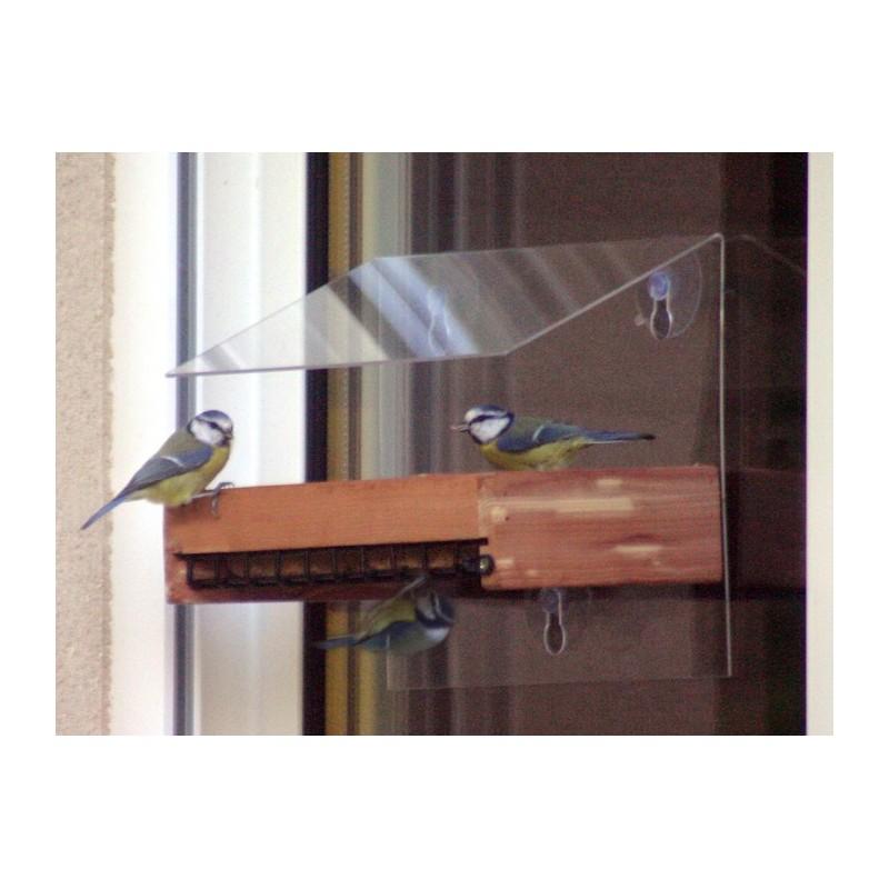 mangeoire buffet pour graines et blocs de graisse pour oiseaux du ciel. Black Bedroom Furniture Sets. Home Design Ideas