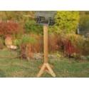 Poteau Bois 123cm