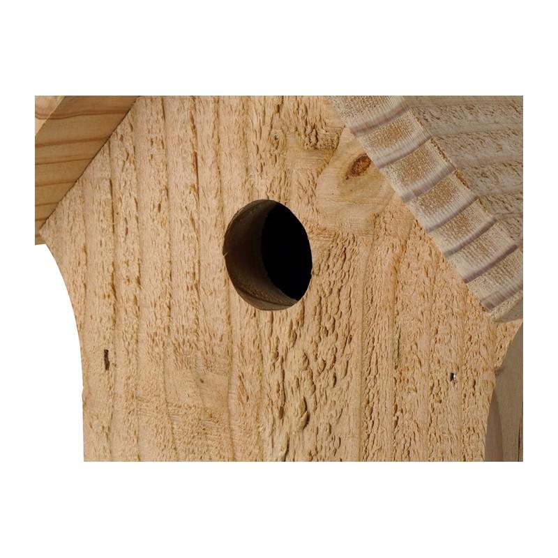 nichoir la cabane pour les oiseaux du jardin. Black Bedroom Furniture Sets. Home Design Ideas