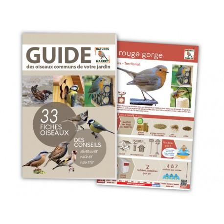 Guide oiseaux jardin