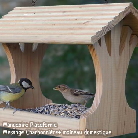 Mélange de graines Supérieur pour oiseaux Natures Market -Oisillon.net-