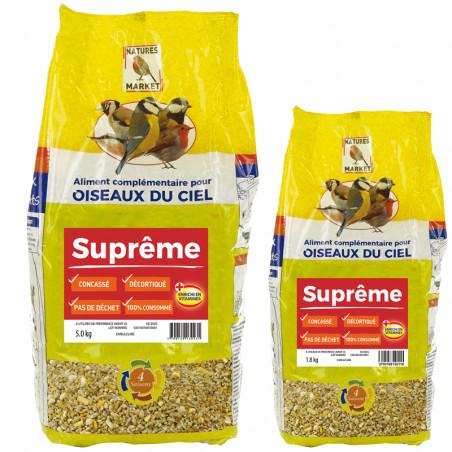 Mélange de graines Suprême Natures Market -Oisillon.net-