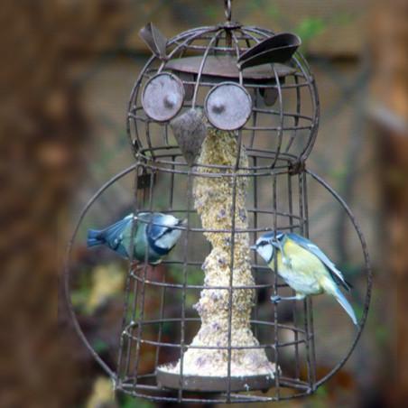 """Mangeoire """"C'est Chouette"""" Nature Market Mangeoire oiseaux pour graisses"""