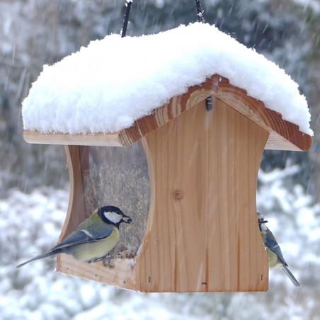 Mangeoire Graineterie pour graines pour oiseaux Natures Market -Oisillon.net- fabriquée en France