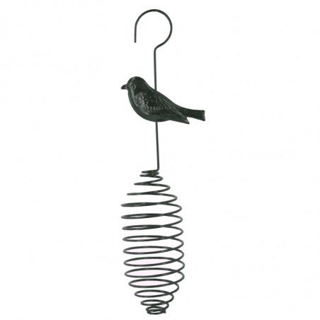 Ressort pour boules de graisses ou matériaux pour nid Natures Market -Oisillon.net-