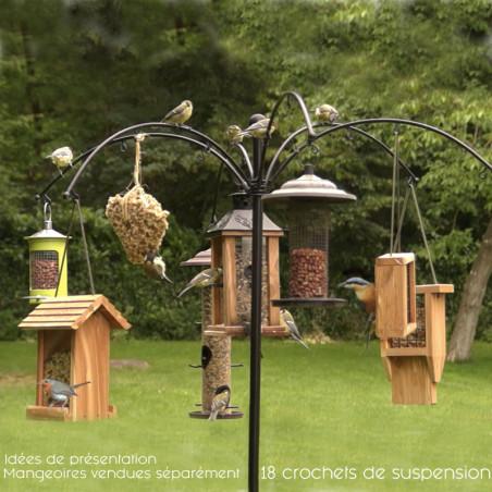 poteau festival pour mangoires pour oiseaux Natures Market -Oisillon.net-