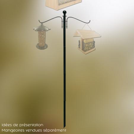 Bird feeder pole plus poteau pour mangeoires pour oiseaux Natures Market -Oisilon.net