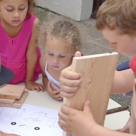 Kit des nichoirs dans ma ville Ntures market Oisilloon.net construire des nichoirs pour les écoles et les mairies