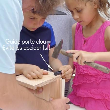 kit premiers pas - fabriqué un nichoir - kit de bricolage pour enfants - fabriqué en France - Natures Market