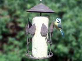 Mangeoire pour oiseaux pour graisse
